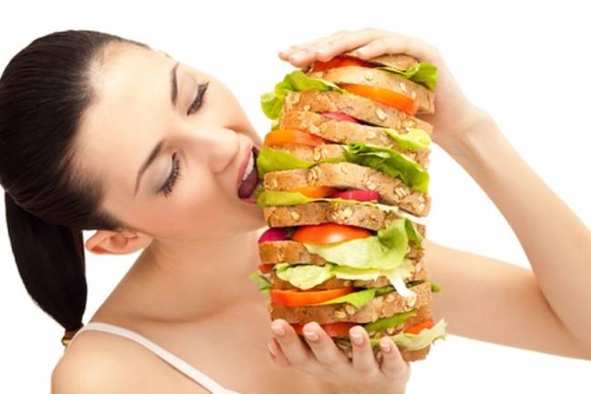 απεφυγε την υπερβολικη καταναλωση φαγητου