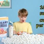 Τα παιδιά καταναλώνουν τη μισή ζάχαρη από αυτή που χρειάζονται στο πρωινό γεύμα!