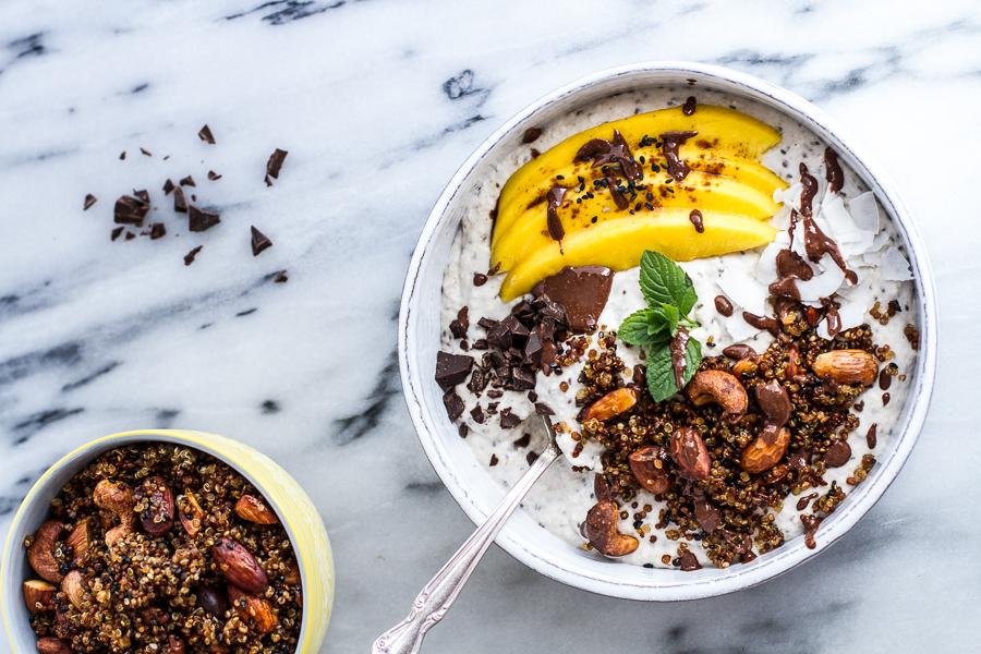 Coconut-Banana-Oats-Smoothie-Bowl-with-Crunchy-Black-Sesame-Quinoa-Cereal-+-Mango.-18