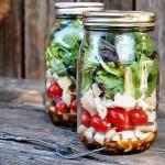 Η σαλάτα σου… στο βάζο!