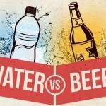 Αντικατέστησε τη μπύρα με νερό και μείωσε το βάρος σου!