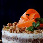 Ωμοφαγικό «κέικ» καρότου