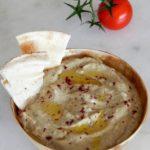 Baba ganoush (Λιβανέζικη μελιτζανοσαλάτα)