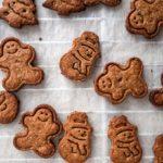 Vegan Χριστουγεννιάτικα μπισκότα Speculoos