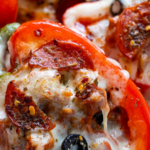 Pizza από πιπεριές